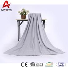 Förderung 100% Baumwolle solide super weiche Decke Winterdecke