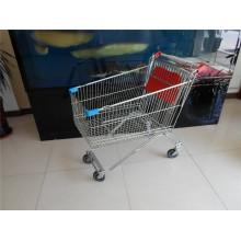 Russland-Art-Supermarkt-Laufkatzen-Supermarkt-Warenkorb