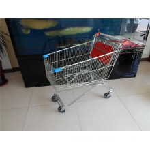 Shopping Trolley with Zinc Plated