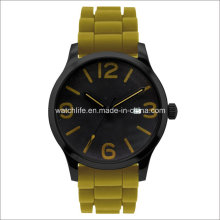 Arm Luminous Rubber Strap Men Wrist Watch