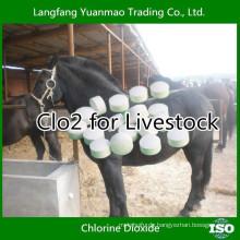 Free Sample Veterinary Desinfektionsmittel von CLO2 für Viehbestand
