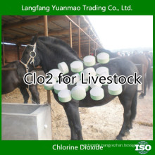 Free Sample Veterinary Disinfectant of CLO2 for Livestock