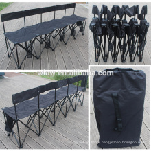 collapsible bench 5 or 6 seaters build to last sideline sports team bench