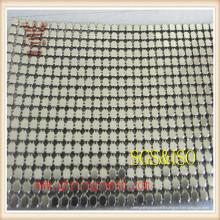 Acier inoxydable / maille décorative / maille de rideau en métal