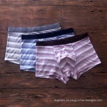 Modificado para requisitos particulares El boxeador modal japonés de la raya de la alta calidad cuatro resume los pantalones de la ropa interior de los pantalones