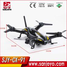 Cheerson CX-91 2.4G 6-axis gyro Jumper Quadcopter Barómetro Set Altura RC Racing Drone con cámara HD CX-91