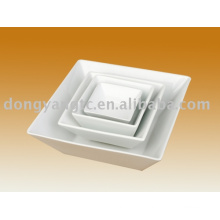 Factory direct wholesale ceramic square bowl