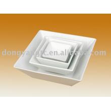 Фабрика прямые оптовые керамическая квадратная миска