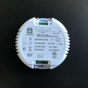 12W round led driver for led downlight