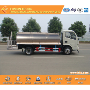 DONGFENG 4X2 stainless steel 5000L water tanker truck