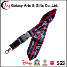 Double Layered 20mm Polyester Overlaid Satin Lanyards