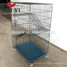 Bester verkaufender Katzen-Käfig, Tür-Kiste des Frettchen-Käfig-2 mit Hängematte