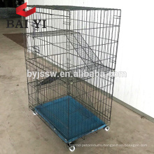 Best Selling Cat Cage, Ferret Cage 2 Door Crate with Hammock