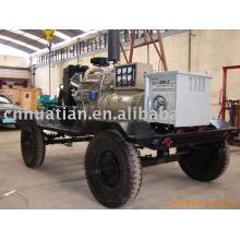 300A gerador de máquina de soldadura diesel