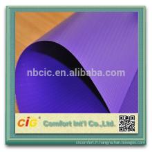 bâche/pvc clair maille bâche/pvc enduit bâche polyester enduit de PVC