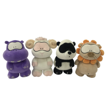 Plush Toy Hippo Sheep Panda And Lion