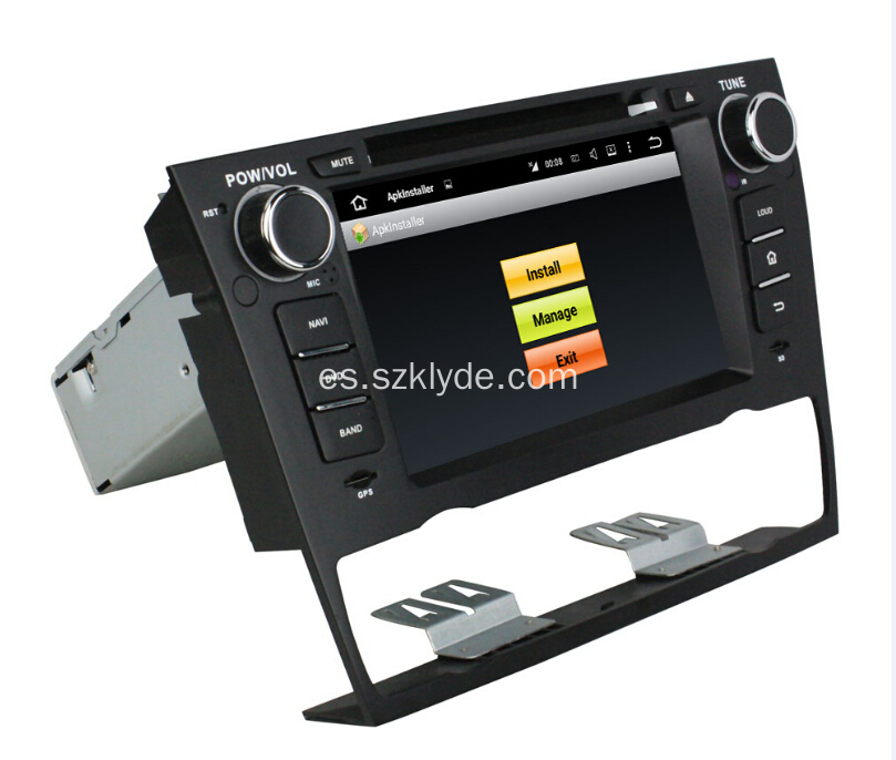 Android 7.1 Car Player para BMW E90