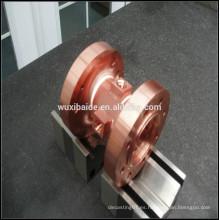 CNC mecanizado piezas de cobre / cnc piezas giratorias