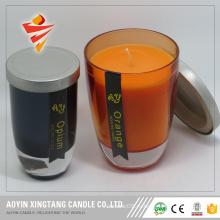 свеча искусств стеклянный опарник свечки