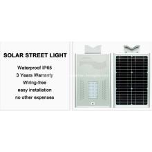 Utilité environnementale de réverbère solaire extérieur de 10-150W