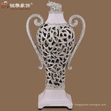 Figurine décorative de bouilloire en résine poly résine