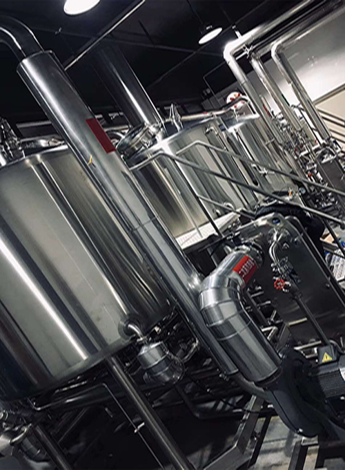 4 vessel brewhouse
