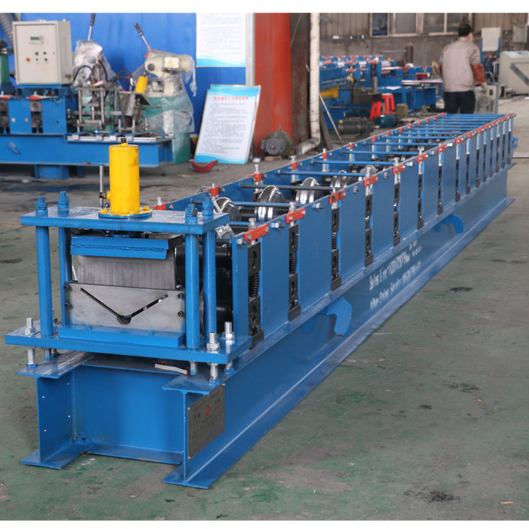 Galvanized Ridge Cap Roll Forming Bending Making Machine