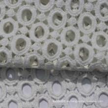 ojal 104 * 88 100% tela de algodón bordado para venta al por mayor
