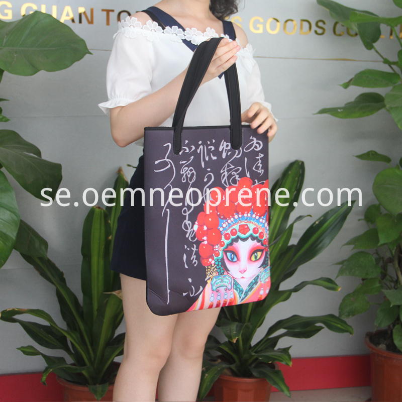 Neoprene Shopping Bag