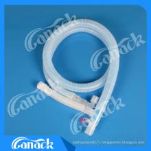 1 circuit de respiration coaxial d'utilisation d'hôpital de la Chine