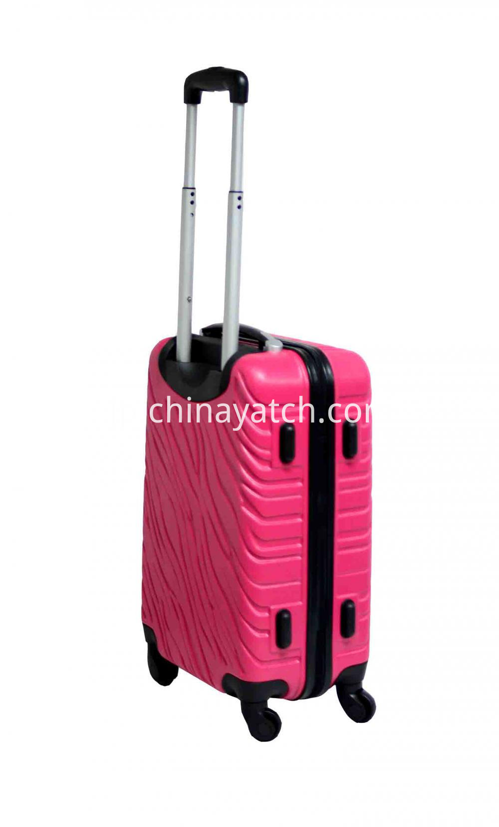 Dull Sliver Iron Tube Trolley Case