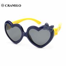 forma de corazón para niños gafas de sol bebé juguete gafas bebé gafas de sol