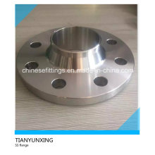 Aço Inoxidável ANSI B16.5 Flange de pescoço de soldagem