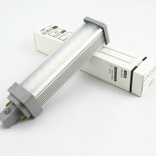 g24 conduziu a lâmpada do plc do ângulo de feixe 120degree do bulbo 10.5w