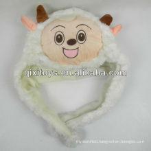 soft plush Pleasant Goat animal hat