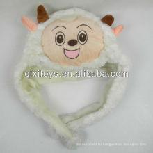 мягкие плюшевые приятный Коза животное шляпу