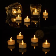 Led outdoor wall lamp led tea light candle