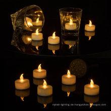 LED Außenwandlampe LED Teelicht Kerze