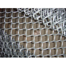 Hot-Dipped Galvanized Iron Wire Mesh Chain Link Fence (anjia-192)
