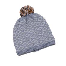 Bonnet en tricot avec fourrure POM Hat