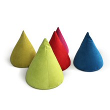 China Manufacturers for Look for Living Room Bean Bags,Custom Room Bean Bag,Room Bean Bag Chairs home textile decoration bean bag soft small cone supply to India Suppliers