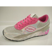 2016 Women Fashion Design Silver Sequin Running Shoes