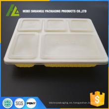 contenedor hermético de alimentos de plástico