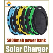 External Backup Battery Waterproof 5000mAh Solar Power Bank