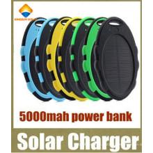 Bateria externa de reserva à prova de água 5000mAh Banco de energia solar