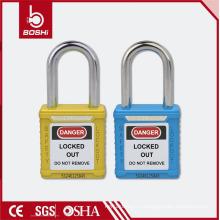 Антикоррозионная защита от коррозии с высокой степенью безопасности Padlock с ключом BD-G03 Blue