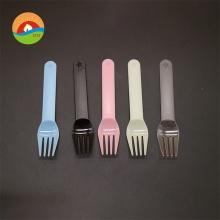 Venta al por mayor venta de plástico personalizada uso de cumpleaños tenedores