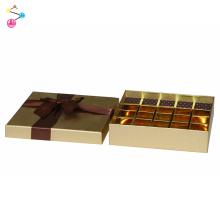 boîtes-cadeaux d'emballage de chocolat