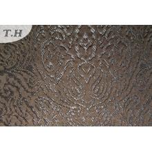 Tissu jacquard de café pour le sofa et les meubles (FTH31968)