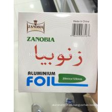 Hoja de shisha desechable perforada de alto grado Hookah Foil